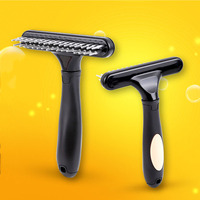 pet-slicker-dog-grooming-comb-stainless-steel-deshedding-dematting-rake-brush-cat-dog-grooming-hair-tools-open-knots-tangles