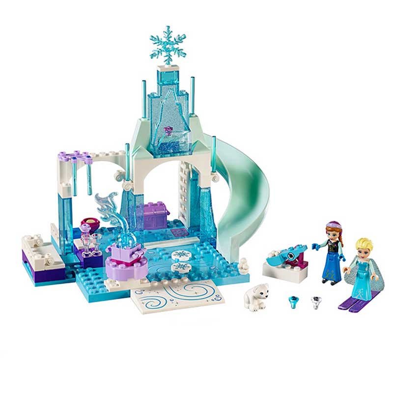 Lepin Pogo Bela Princess Girls Arendelle Castle Anna Elsa Building Blocks Bricks Compatible legoe Toys Gifts for Children bela 10439 compatible lepin city arctic helicrane building blocks policeman figure toys for children girls