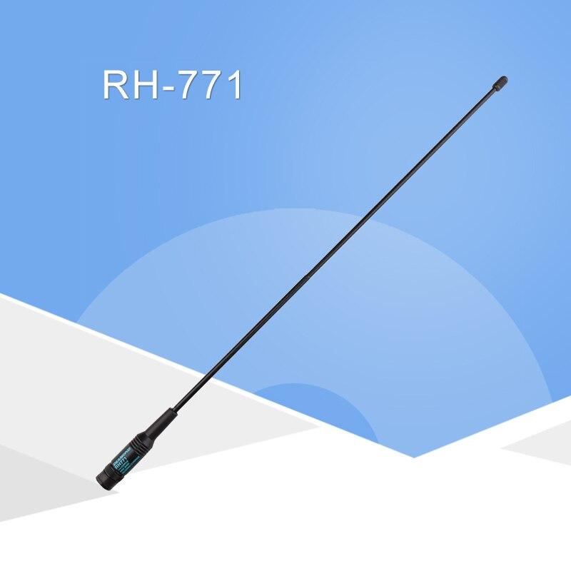 Général Diamant RH-771 Dual Band Talkie Walkie Baofeng Antenne VHF/UHF SMA-Femelle pour Ordinateur De Poche Radio Baofeng UV-5R UV-82 BF-888S