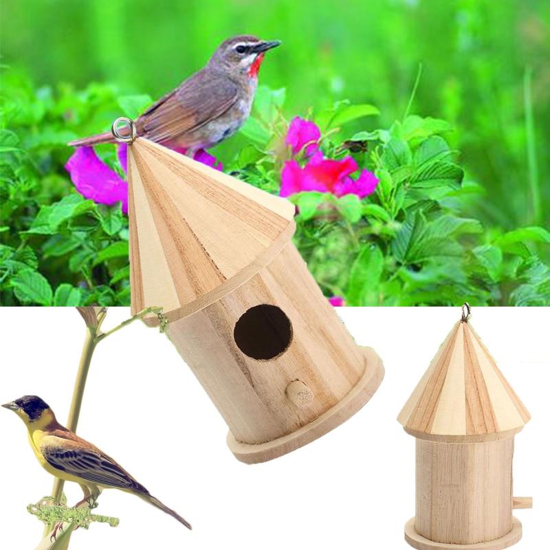 Փայտե պարտեզի թռչունների վանդակի - Ապրանքներ կենդանիների համար - Լուսանկար 2