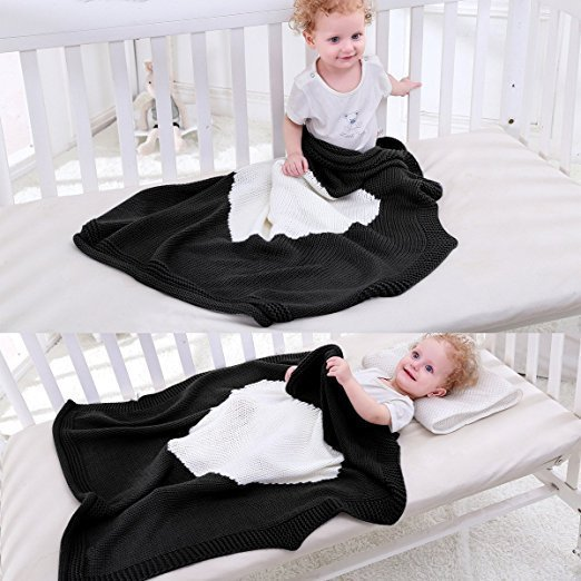 Loving-Heart-Baby-Blanket-Knitted-Baby-Bedding-Wrap-Soft-Blankets-Girls-Blankets-Newborn-Big-Rabbit-Ear-Swaddling-Play-Mat--3