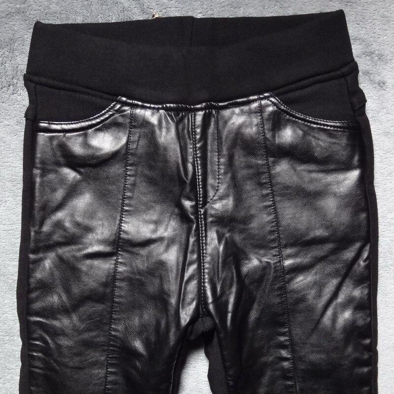 Nuevo estilo sexy negro Cruz Red de cintura alta y cuerpo bottompants leggings - 2