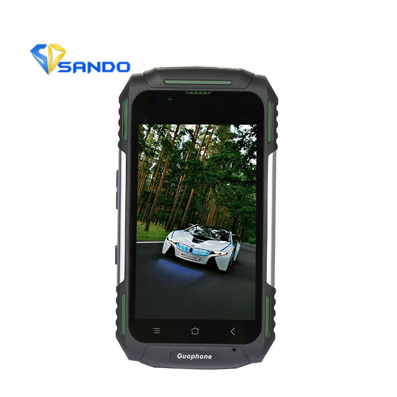 Original GUOPHONE V88 Phone Waterproof Shockproof 3G Quad Core 1GB RAM 8MP Dual SIM 3200mAH GPS