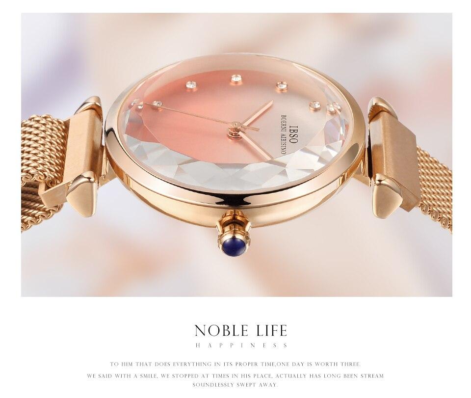 Fashion Women Hit Color Watches Female Cut Glass Design Quartz Watch Magnet Buckle 12