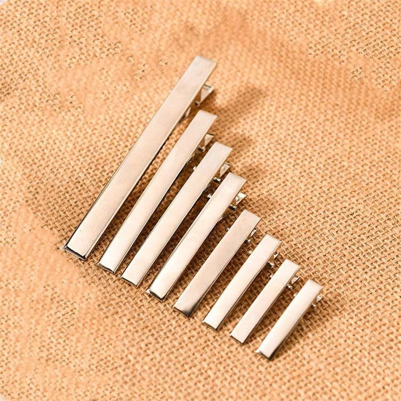 Obliging 10pcs 32/35/40/45/55/65/75mm Length Hair Jewelry Settings Blank Bases For Diy Alligator Clip Hairpins Jewelry Findings To Ensure A Like-New Appearance Indefinably Jewelry Findings & Components
