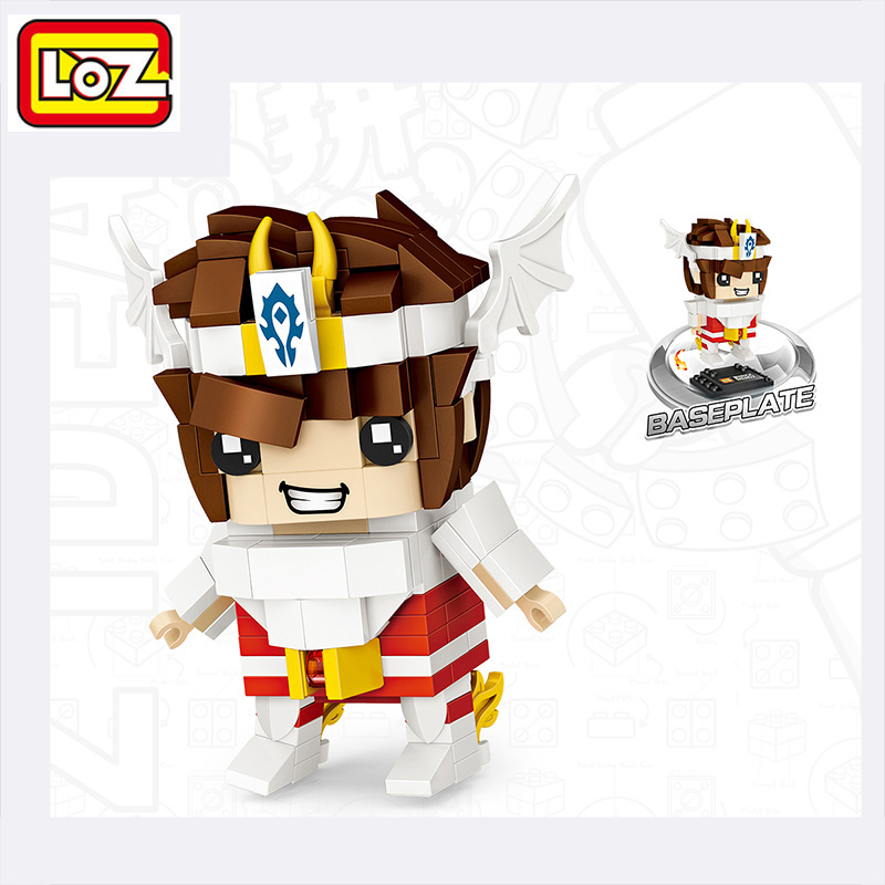 LOZ Mini Seiya Building Blocks Gifts Toys For Children Marvel Star Wars Official Authorized Toy Self- Locking Playmobil