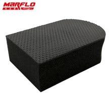 Auto Care Magia Barro Bar Pad Mitt Microfibra Toalha Toalha de Limpeza Polimento Bloco Esponja Ferramentas MARFLO por Brilliatech