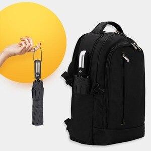 Image 4 - 바람 저항 접는 자동 우산 비 여자 남자에 대 한 자동 럭셔리 큰 Windproof 우산 비 블랙 코팅 10K 파라솔