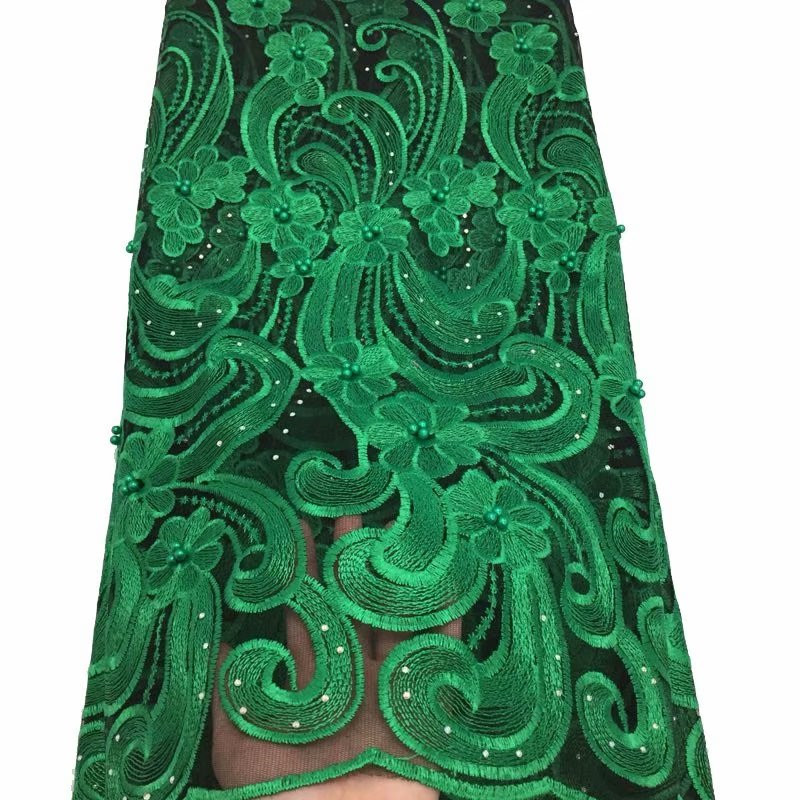 Hot Selling African Tulle Lace Fabric 2018 High Quality Best Green Nigerian Lace Fabric For Embroidery French Lace Fabric(YD-4Hot Selling African Tulle Lace Fabric 2018 High Quality Best Green Nigerian Lace Fabric For Embroidery French Lace Fabric(YD-4