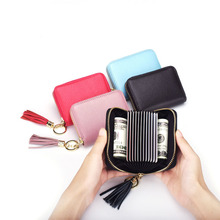 Card Bag, Multi-card Position, Card Set of Certificate, Creative Organ fringes with Zero Purse