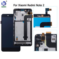 AAA Quality LCD For Xiaomi Redmi Note 2 Lcd Display Screen Replacement Note 2 Digitizer Assembly