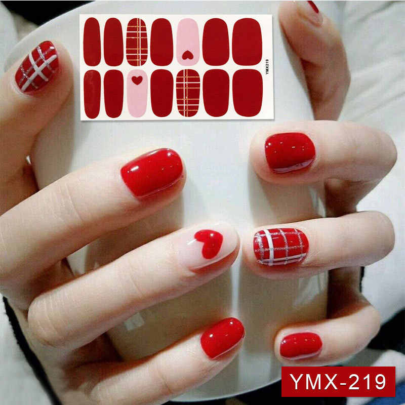 Detail Feedback Questions about 14tips/sheet Pure Color Full Nail ...