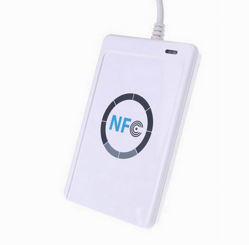JAKCOM ACR122u IC Card Reader Copy 13.56mhz IC Card for R3 Smart Ring or N2 Smart Nail