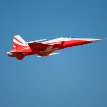 Окончательного Би rc самолет F5 N Тигр 80 мм Джет и комплект с сервоприводами