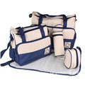 5PCS/Set High Quality Tote Baby Shoulder Diaper Bags Durable stroller Nappy Bag Mummy Mother Baby Bag/ baby bags for mom
