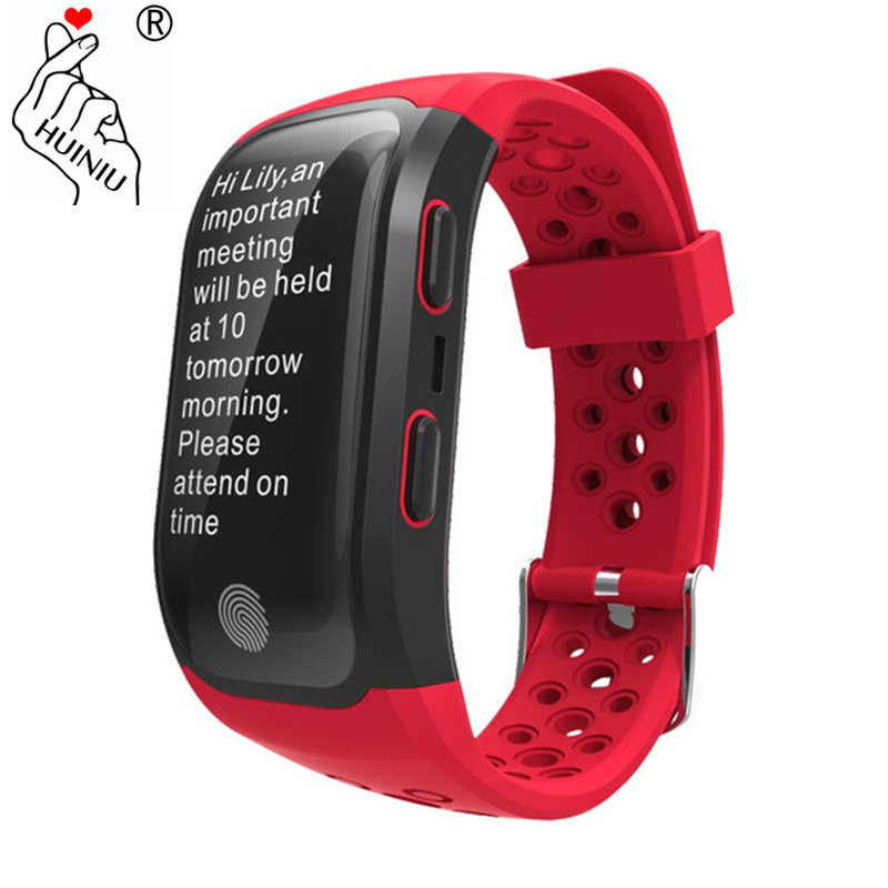 G03 S908 GPS Sports Smartband Bluetooth Waterproof Smart Bracelet Heart Rate Monitor Fitness Tracker Watch for Android IOS Phone стоимость