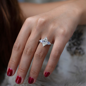 Image 5 - OneRain Vintage 100% 925 Sterling Silver Mariquesa Sapphire Topaz Citrine Wedding Engagement Couple Lover Women Men Ring Jewelry