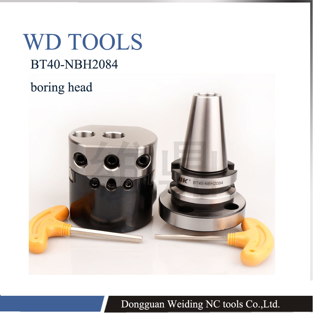 BT40 - NBH2084 8pcs precision boring system 1pc NBH2084 boring head +1pc BT40 boring shank+8pc boring bar DBJ boring bar bt40 bsb90 180 handle thick knife rod bsb 90 degree coarse boring bar tool holder boring holder with square boring bit