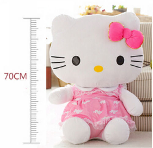 Fancytrader 27\'\' 70cm Giant Plush Stuffed Hello Kitty, 3 Colors Available! Free Shipping FT90157 (7).jpg