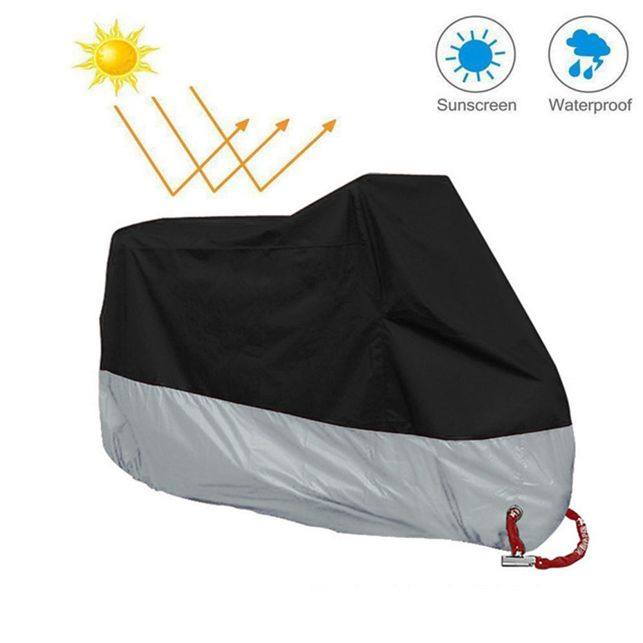 VORCOOL Motorcycle Cover Waterproof Rain Covers Outdoor Indoor Moto Scooter Protection Dustproof Case For Motorcycle Cover (6)