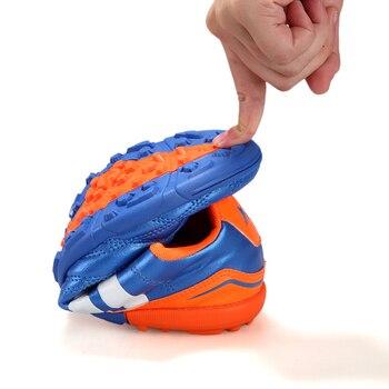 Estudantes de Treinamento Hard Court TF Chuteiras de Futebol sapatos Homens Adultos Crianças Indoor Futebol Botas Sneakers Respirável Zapatos de Futbol