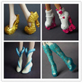 4Pairs/Lot New Arrival Doll Accessories Fashion Doll Boots Shoes For Doll Monster