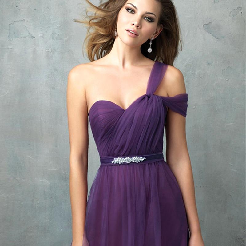 Bonito Vestido De La Dama De Honor Larga Convertible Ideas Ornamento ...