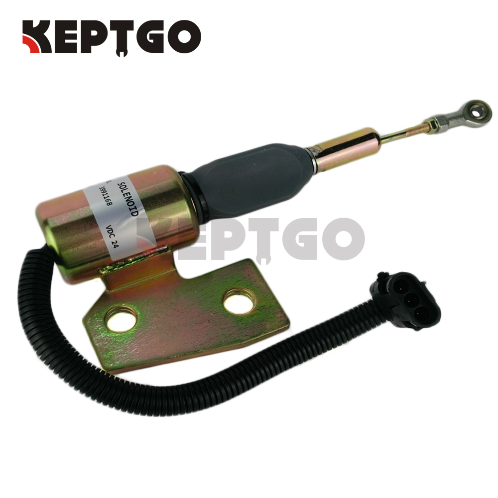 Fuel Shutdown Shutoff Solenoid For Komatsu PC150LC-6 PC150LC-6K PC150-6 6732-82-9110 24VFuel Shutdown Shutoff Solenoid For Komatsu PC150LC-6 PC150LC-6K PC150-6 6732-82-9110 24V