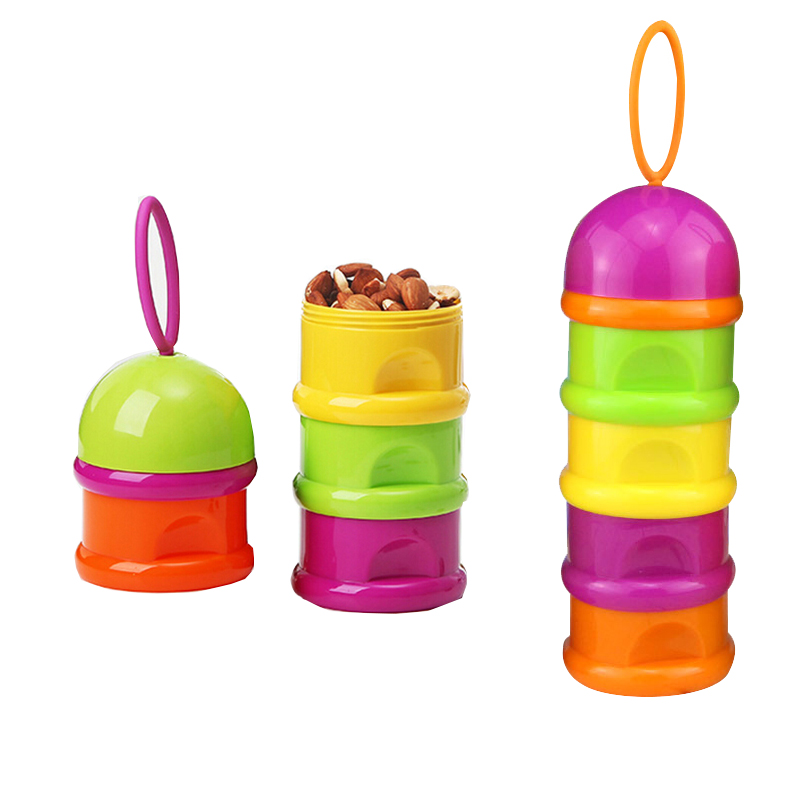 4 Layer Dry Fruit Containers Snacks Seeds Storage Box Garbage Holder Plate Dish Organizer Home Organization