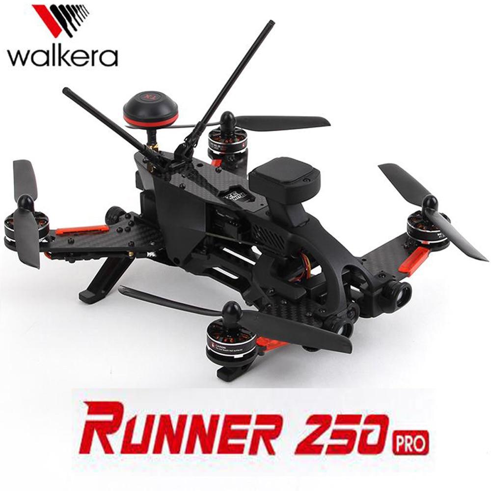 Original Walkera Runner 250 PRO GPS Racer quadcopter drone with 800TVL or 1080P HD camera/OSD/GPS/ DEVO 7 Transmitter RTF Racing