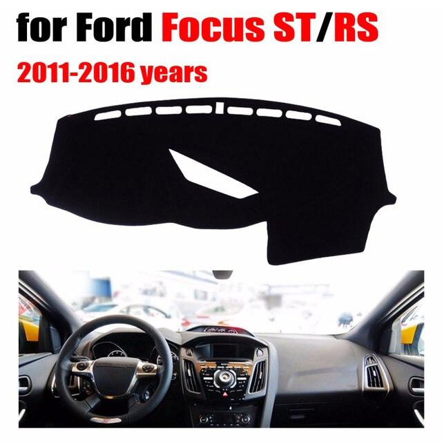 Auto cruscotto copre per Ford Focus ST/RS 2011-2016 guida a Sinistra dashmat pad dash copertura auto dashboard accessori