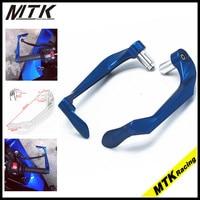 MTKRACING 7 / 8 Brake Clutch Lever Protector Guardrail Motorcycle handle for Honda Yamaha Kawasaki Suzuki R1 R6
