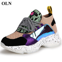 OLN Woman Brand Outdoor Athletic Comfortably Running Shoes Outdoor Jogging Sport Shoes For Women Breathable Womens Sneakers