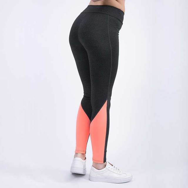 cb7ca487a2e22 Women Pro Sports Compress Running Tight Gym Pant Yoga Exercise Fitness High  Waist Legging Workout Slim Bodybuilding Clothing E1
