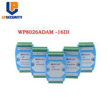 Digitale Ingang Module Switching Module Lsolated 16 Kanaals DI MODBUS Communicatie WP8026ADAM