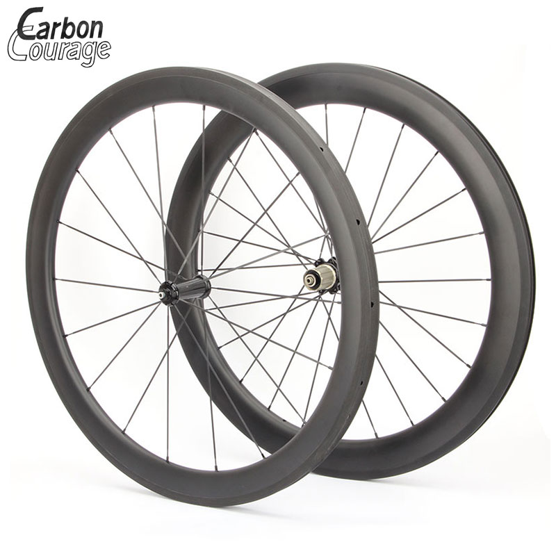 Free shipping! 50mm Carbon Wheelset Clincher Wheels With G3 Weave r36/r39 Hub 18/21 Holes Carbon Road Wheelset 700C vcycle 50mm clincher carbon wheelset 700c straight pull road bicycle wheels racing road bike wheelset with powerway r36 hub