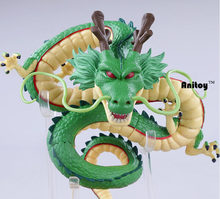 Anime Dos Desenhos Animados Dragon Ball Z Shenron Shenlong com Bolas de PVC Action Figure Collectible Modelo Toy Boneca Bola Dragão 14 CM(China)