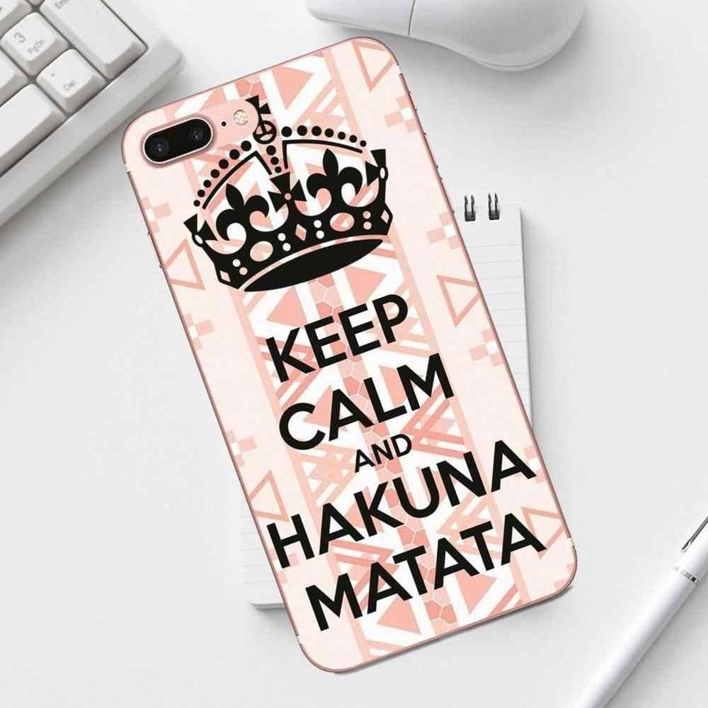 TPU Mobile Pouch Ethnic Tribal Hakuna Matata Phone For Galaxy ...
