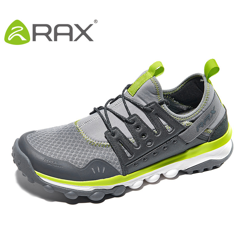 цена на Rax Men Sneakers Super Breathable Outdoor Climbing Shoes Non Slip Damping Male Sports Shoes B2625