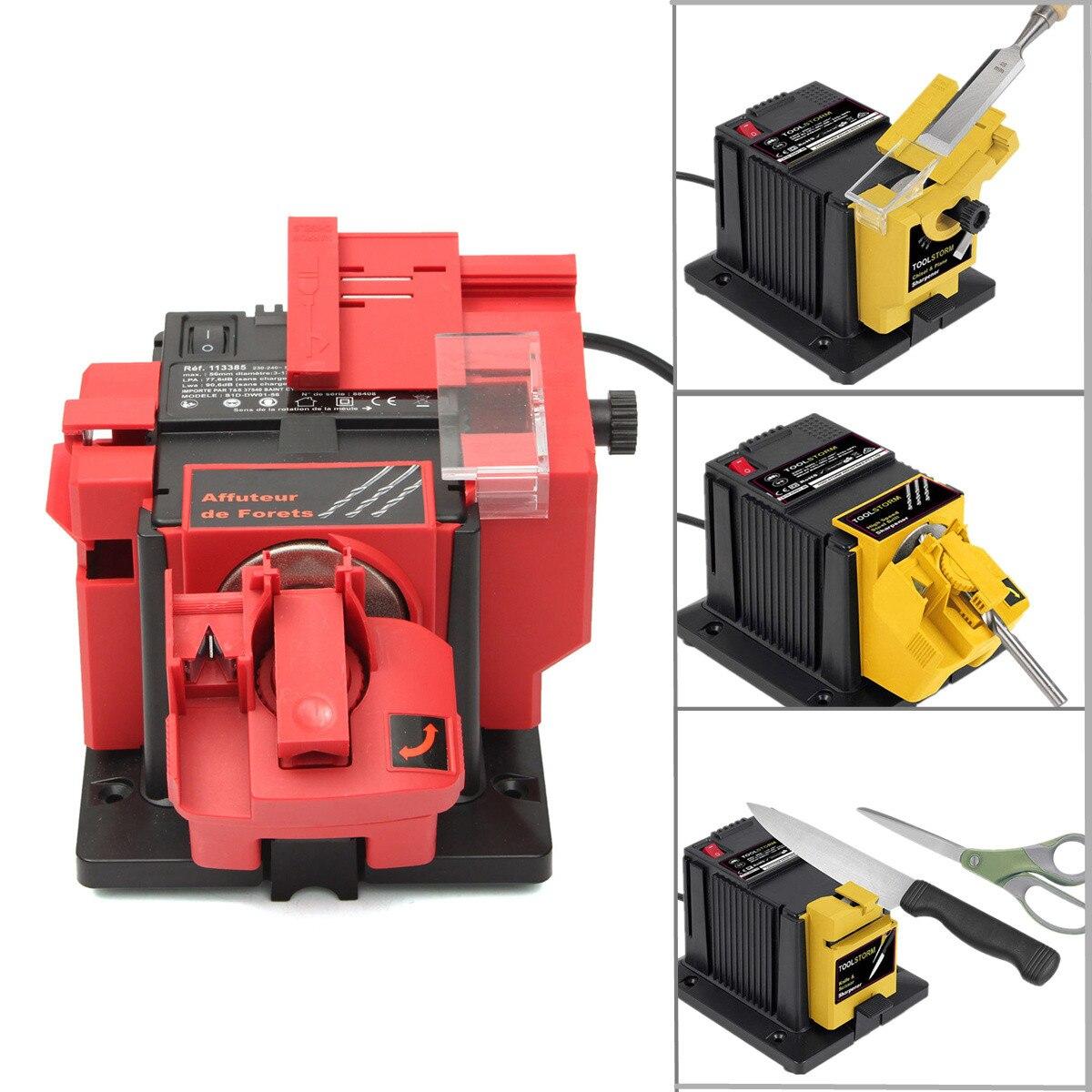 230-240 v/AC 50 hz Électrique Multi Fonction Sharpener Foret Ciseaux Ciseau Raboteuse Meule Emery vitesse de Rotation 1350/min