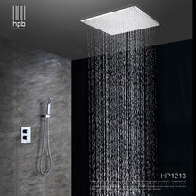 HPB Brass Bathroom Hot and Cold Water Mixer Ceiling Mounted Shower Head