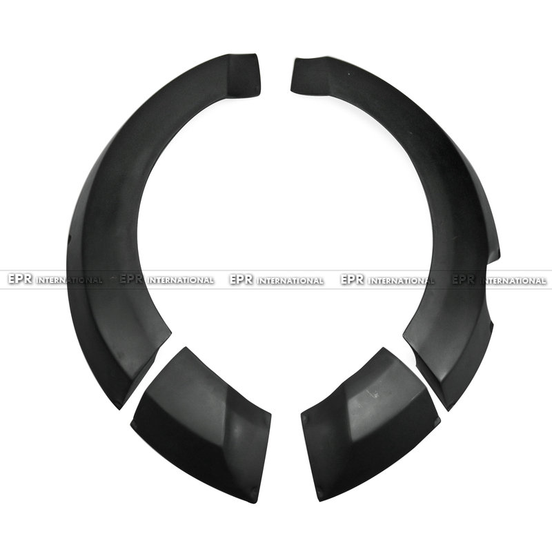 Voiture-style FRP Fiber de verre Lordpower large corps arrière garde-boue bâche de voiture pour Hyundai Veloster (besoin du pare-chocs avant large)