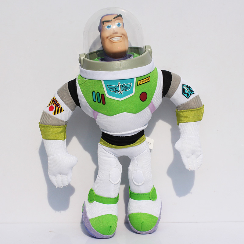 30~42cm Toy Story Buzz Lightyear Stuffed Plush Toys Soft Doll Great Christmas Gifts For Children