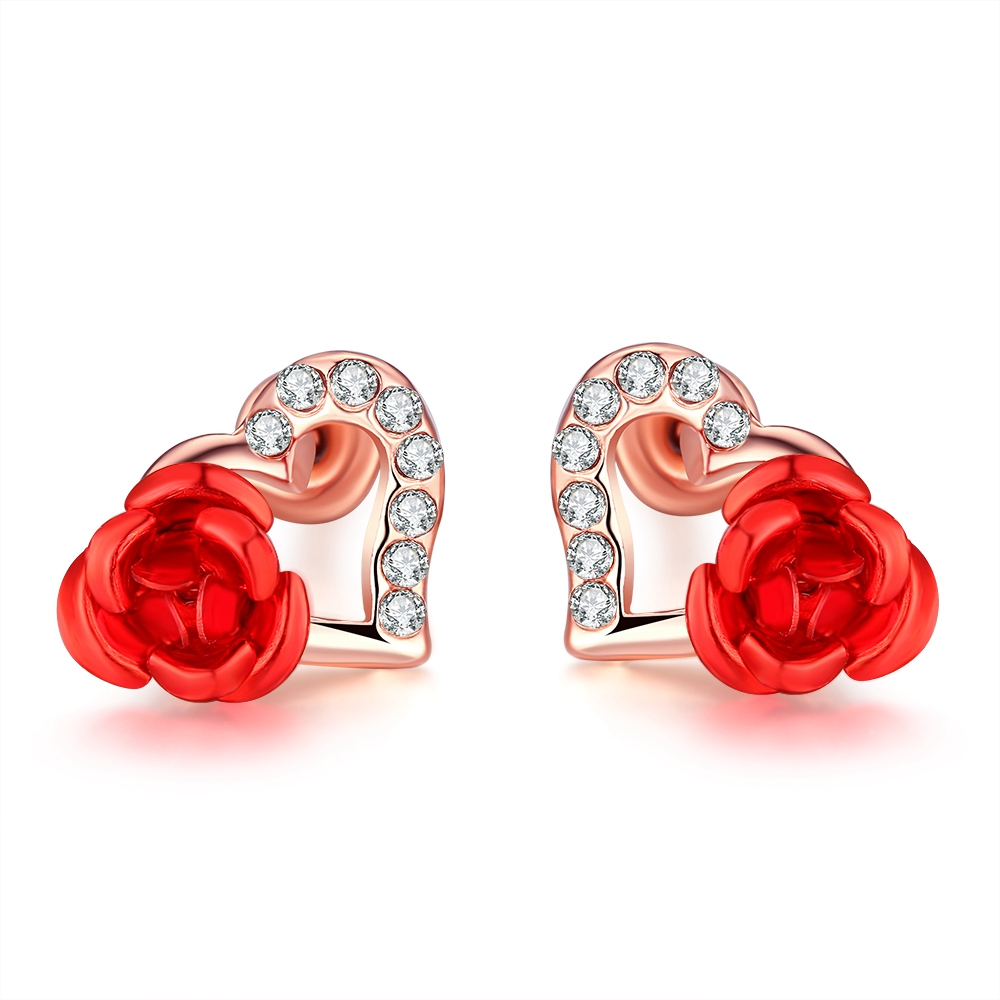stud with red sliders pella detail silver