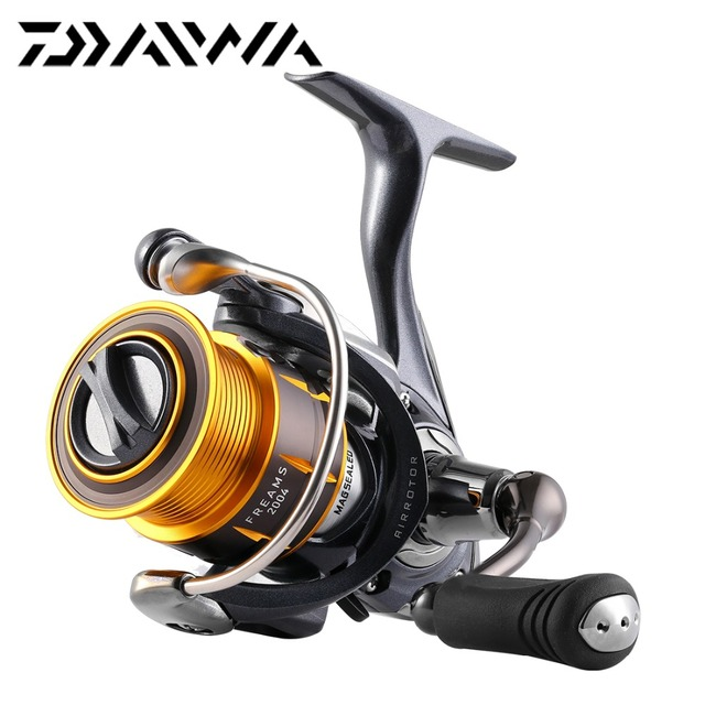 New Original Daiwa FREAMS 2004 2506 4BB Spinning Fishing Reel 4.8:1 270g 3kg Shallow spool Air Rotor Super Metal Body