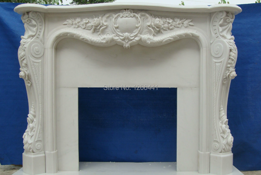 stone marble fireplace mantel luxurious French royal style custom made - Online Get Cheap Marble Fireplace Mantel -Aliexpress.com Alibaba