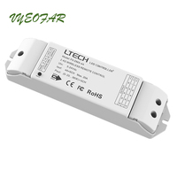LTECH F5 DMX 4A DMX Power Driver DC5 24V 5 Channel Output work with L Bus System Dimming/CT/RGB/RGBW DMX512 Wireless Driver