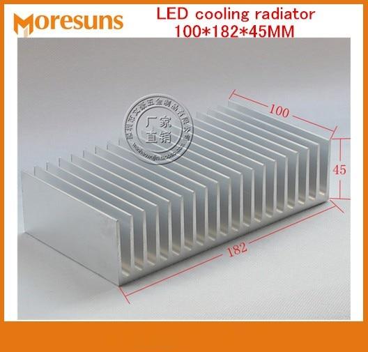 Fast Free Ship Module heatsink/LED cooling radiator 100*182*45MM Electric heat block big Size Heatsink 2 x b ddr ddr2 ram memory cooler heat spreader heatsink z09 drop ship