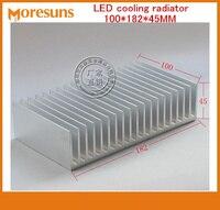 Snelle Gratis Schip Module heatsink/LED cooling radiator 100*182*45 MM Elektrische warmte blok big Size Heatsink
