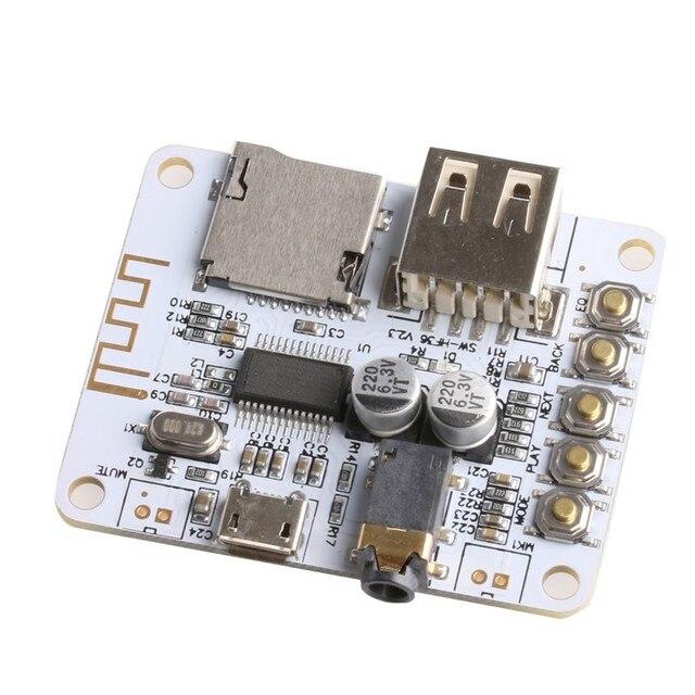 Wireless Bluetooth Audio Receiver Board 5V With USB TF Card Decode on speaker audio, coaxial audio, sony audio, headset audio, multimedia audio, cd audio, cable audio, set clock pioneer car audio, dvi audio,